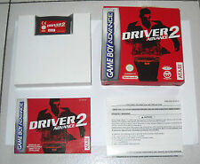 Nintendo Game Boy Advance DRIVER 2 ADVANCE - PERFETTO  ITA GBA Gameboy
