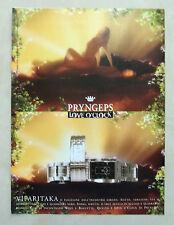 A979-Advertising Pubblicità-1999 - VIPARITAKA - PRYNGEPS LOVE O'CLOK - OROLOGI