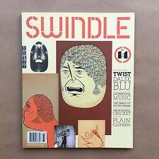 Swindle Art Magazine Number 14 Barry McGee Cover Back Issue Twist Dalek Blu