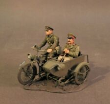 John Jenkins The Great War QWB-28  Motorbike and Sidecar with Officer  New Boxed