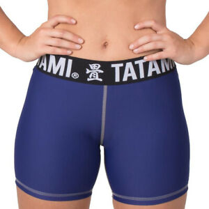 Tatami Fightwear Women's Minimal Vale Tudo Shorts - Navy