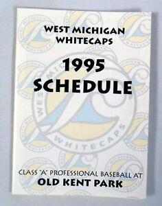 West Michigan Whitecaps Vintage 1995 2nd Season OLD KENT PARK Schedule