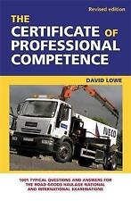 The Certificate of Professional Competence: 1001 Typical Questions and Answers …