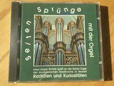 Seiten Sprünge mit der Orgel. Raritäten und Kuriositäten. Richter. 1 CD
