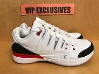 Nike Air Jordan 3 Retro Zoom Vapor Roger Federer AJ3 RF Fire Red 709998-106 fc7f053ec