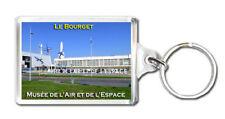 MUSEUM AIR AND SPACE PARIS LE BOURGET KEYRING SOUVENIR LLAVERO