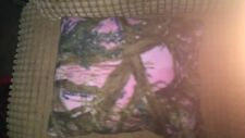 Small pink camo dog/cat bed