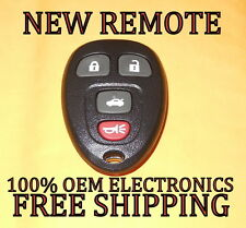 NEW GM CHEVY BUICK PONTIAC SATURN KEYLESS REMOTE ENTRY FOB 15252034 KOBGT04A