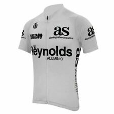 Reynolds Vuelta a Espana 1989 White Retro Cycling Jersey