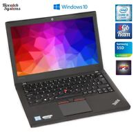 "Lenovo ThinkPad X260 i5-6300u 8GB 256GB SSD 12,5"" FullHD IPS 3x USB 3.0 WEBCAM"
