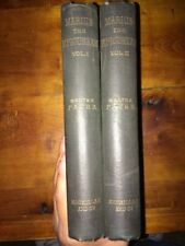 Marius The Epicurean Volumes 1&2 By Walter Pater 1892