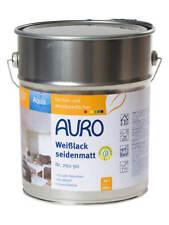 Auro Weißlack seidenmatt Aqua 10 l