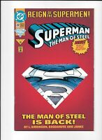 "Superman The Man Of Steel #22 | ""The Man of Steel Is Back!"" 