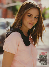 Leighton Meester 5pg + cover TEEN VOGUE magazine feature, clippings