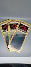 (3)- Jurassic Park Brochures Prop cosplay jurassic world