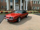 1986 Ford Mustang  1986 Ford Mustang GT 5.0 Manual Convertable Low Miles Excellent Condition
