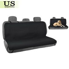 Waterproof Pet Cat Dog Car Back Seat Cover Protector Bench Mat Blanket Black New