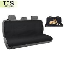 Waterproof Pet Cat Dog Car Back Seat Cover Protector Bench Mat Blanket Black New