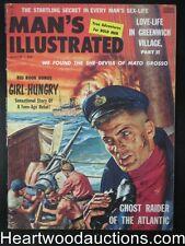 Man's Illustrated Aug 1958 Legs Diamond,Fetish