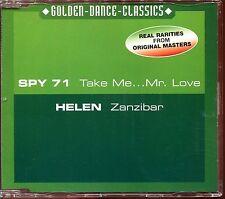 SPY 71 (TAKE ME ... MR LOVE) HELEN (ZANZIBAR) -  ITALO DISCO CD MAXI [1248]