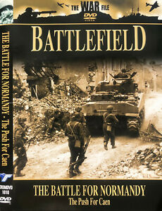 The War File Battlefield DVD Battle For Normandy - Discovery Channel Documentary