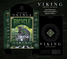 Bicycle Viking Iron Scale Playing Cards Deck New Sealed