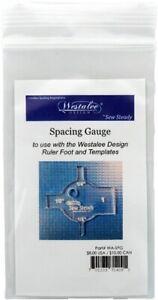 """Spacing Gauge - Helps Measure 1/8"""", 1/4"""", 1/2"""" and 1"""" Spaces When Using Rulers"""