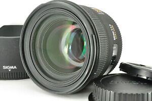 """ Mint "" SIGMA EX 50mm F1.4 DG HSM AF Prime Lens w/ Hood for Canon from Japan"