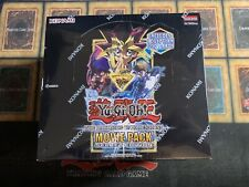 Yugioh Movie Pack Secret Edition Factory Sealed Display Booster Box 1st Edition!