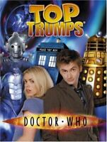 Moray Laing, Doctor Who: Series 1 & 2 (Top Trumps), Like New, Perfect Paperback