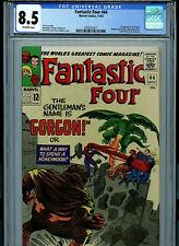 Fantastic Four #44 CGC 8.5 VF+ Marvel Comic Amricons 1st Gorgon K30