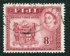Elizabeth II (1952-Now) Used Fijian Stamps (Pre-1967)