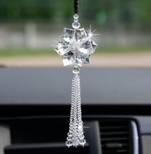 Crystal Car Rearview Mirror Pendant Decor Accessorie​s Elegant Hanging Ornament