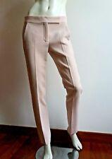 🌷🦋New#  MAX MARA Pink Stretch Wool Trousers size 16USA_ 18GB_ 46D_50IT_48F