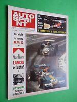 Autosprint 1972/35 Rally Sanremo Lancia Marlboro Regazzoni Special Tourism