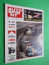 AUTOSPRINT 1972/35 Rally Sanremo Lancia Marlboro Regazzoni Speciale Turismo