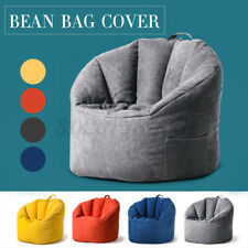 Large Bean Bag Chair Sofa Couch Cover Indoor Lazy Lounger Home Kids Adult Gift