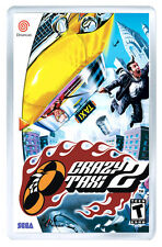 CRAZY TAXI 2 SEGA DREAMCAST FRIDGE MAGNET IMAN NEVERA