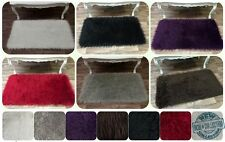 Supreme Quality Mongolian Faux Fur / Hairy Shaggy Flokati Rug Carpet Non - Slip