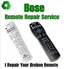 Remote Control Repair Service- Bose AV28 RC28T1-27 RC28S2-27 RC38T1-27 RC18T1-27