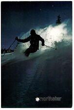 Northstar at Tahoe Postcard California Skier Deep Poweder High Sierra Unposted