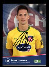 Frank Lehmann Autogrammkarte 1 FC Heidenheim 2011-12 Original Signiert+A 174757