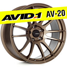 AVID.1 AV-20 18x9.5 Flat Bronze 5x114.3 +38 Wheels  57Xtreme Style (Set of 4)