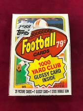 1988 Topps Football Cello Pack Gerald Carter front Herschel Walker back (CT6)