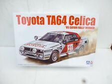 KIT TOYOTA TA64 CELICA GR.B 1985 SAFARI RALLY WINNER 1/24 AOSHIMA 24004 BEEMAX