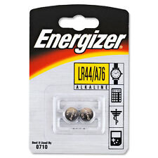 2 X Energizer Lr44 Alkaline 1.5v Coin Cell Button Batteries 357 Ag13 A76