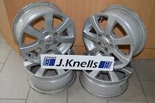 Ein Satz Aluett Alufelgen 6,5x15 ET40 LK5x114,3 KBA 47095  für Nissan Renault