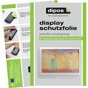2x Screen Protector for Samsung Galaxy Note 10.1 (2014) protection anti glare
