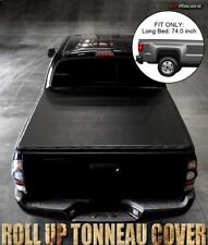 "Lock & Roll Soft Tonneau Cover 2004-2012 Colorado/Canyon Std/Ext Cab 6Ft 72"" Bed"