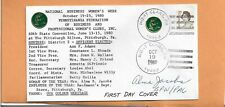 NATIONAL BUSINESS WOMEN'S WEEK OCT 19,1980 MONT CLARE PA SIGNED  VINTAGE COVER +